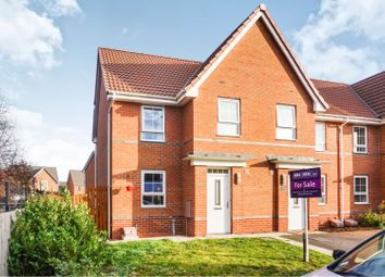 Thumbnail 3 bed end terrace house for sale in Harrier Close, Scunthorpe