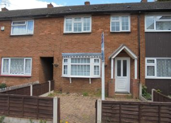 Thumbnail 3 bed terraced house for sale in Meadow Close, Madeley, Telford