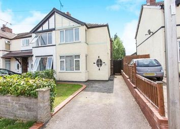 Thumbnail 2 bed semi-detached house for sale in Cromwell Road, Northwich, Cheshire