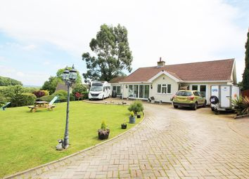 Thumbnail 4 bed detached bungalow for sale in Court Rise, Llanddewi Rhydderch, Abergavenny