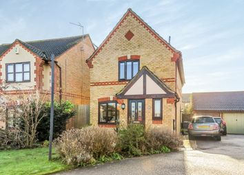 Thumbnail 3 bedroom detached house for sale in Grovebury Court, Wootton, Bedford