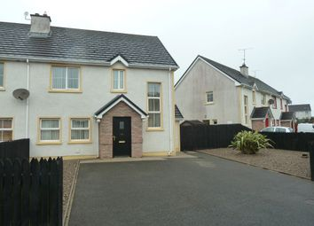 Thumbnail 3 bed semi-detached house for sale in 56 Melvin Fields, Kinlough, Leitrim