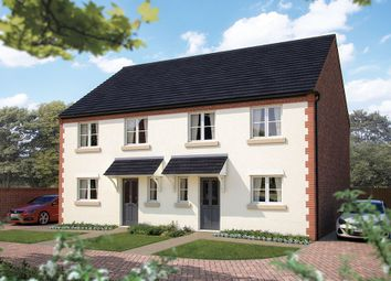 "Thumbnail 3 bed semi-detached house for sale in ""The Clarendon"" at Wall Hill, Congleton"