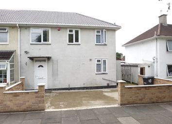 Thumbnail 3 bed semi-detached house for sale in Blundell Road, Evington, Leicester
