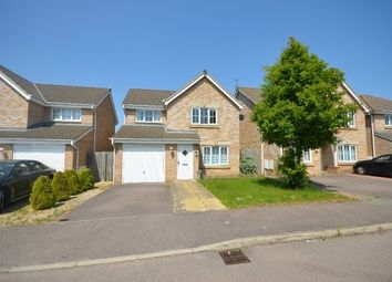 Thumbnail 3 bed detached house for sale in Powys Close, Corby