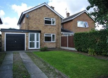 Thumbnail 3 bed detached house to rent in Cordwell Close, Castle Donington