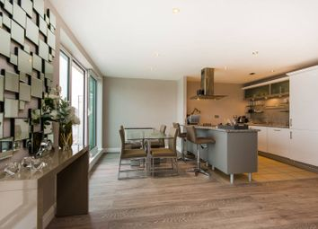 Thumbnail 2 bed flat to rent in Lombard Road, Battersea Square