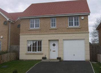 Thumbnail 4 bed detached house to rent in Chapel Drive, Consett