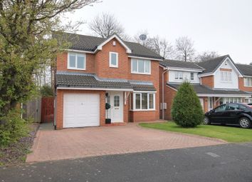Thumbnail 4 bed detached house for sale in Warkworth Drive, Chester Le Street