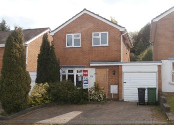 Thumbnail 3 bed detached house for sale in Sherwood Drive, Brierley Hill