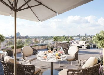 Thumbnail 3 bedroom flat for sale in Chelsea Harbour, London