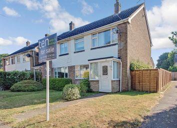 Thumbnail 3 bed semi-detached house for sale in Highfield Avenue, Alconbury Weston, Huntingdon