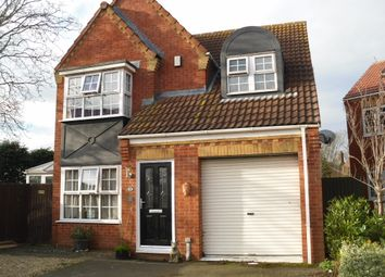 Thumbnail 3 bed terraced house for sale in Hannington Close, Whittlesey