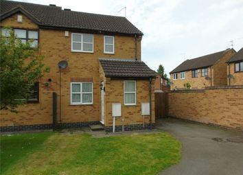 Thumbnail 2 bed end terrace house to rent in Ervins Lock Road, Wigston, Leicestershire