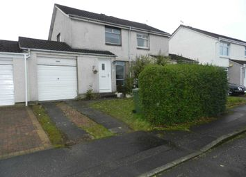 Thumbnail 2 bedroom semi-detached house to rent in Inverewe Place, Thornliebank, Glasgow
