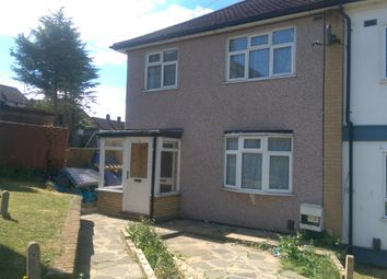 Thumbnail 3 bed terraced house to rent in Newbury Close, Harold Hill
