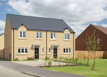 "Thumbnail 3 bedroom semi-detached house for sale in ""The Alvescot"" at Calais Dene, Bampton"