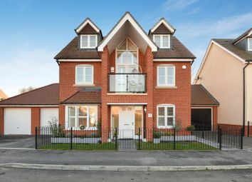 Thumbnail 4 bed detached house for sale in Bluebell Crescent, Woodley