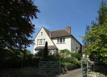 Thumbnail 4 bed detached house for sale in Church Lane, Badgworth, Axbridge
