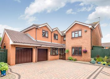 Thumbnail 4 bed detached house for sale in Grocott Close, Penkridge, Stafford