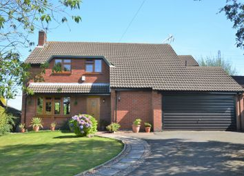 Thumbnail 4 bed detached house for sale in Beaumont Green, Coleorton