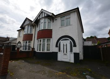 Thumbnail 3 bed semi-detached house to rent in Newhampton Road East, Wolverhampton