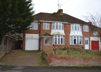 Thumbnail 4 bedroom semi-detached house for sale in Rydal Ave, Reading