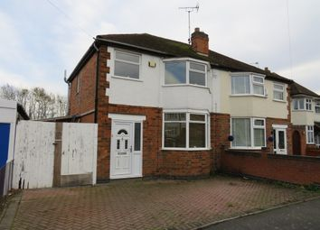 Thumbnail 3 bed semi-detached house for sale in Colbert Drive, Leicester