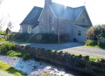 Thumbnail 3 bed semi-detached house for sale in Old School House, Brook, Laugharne, Carmarthen