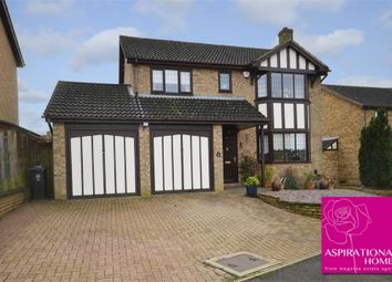 Thumbnail 4 bed detached house for sale in Heritage Way, Raunds, Wellingborough, Northamptonshire
