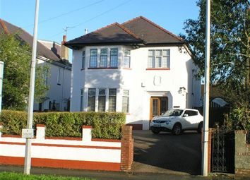 Thumbnail 4 bed detached house for sale in Llantrisant Road, Llandaff, Cardiff