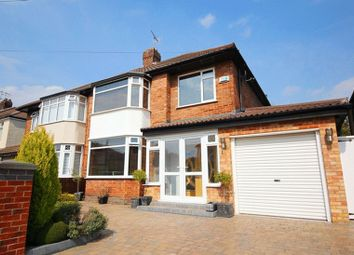 Thumbnail 3 bed semi-detached house for sale in Glendyke Road, Calderstones, Liverpool