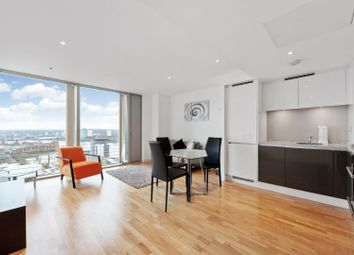 Thumbnail 1 bedroom flat for sale in Landmark West Tower, Canary Wharf