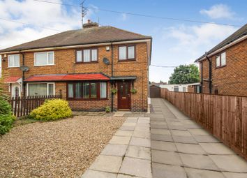 Thumbnail 3 bedroom semi-detached house for sale in Ramsdale Avenue, Calverton, Nottingham