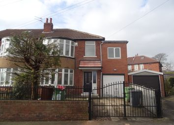 Thumbnail 4 bed semi-detached house to rent in Bowood Avenue, Meanwood, Leeds