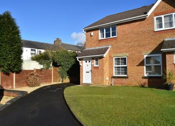 Thumbnail 3 bed semi-detached house for sale in Paradise Close, Whittle-Le-Woods, Chorley