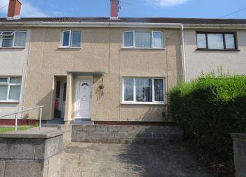 Thumbnail 3 bed terraced house for sale in Llwyn Crwn Road, Llansamlet, Swansea