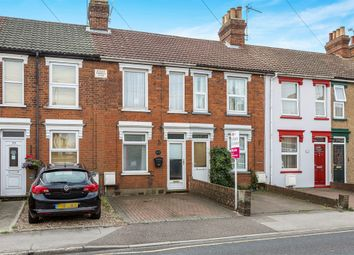 Thumbnail 3 bedroom terraced house for sale in Foxhall Road, Ipswich