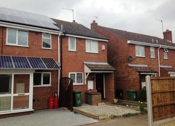 Thumbnail 2 bedroom end terrace house to rent in The Hidage, Littleworth, Worcester