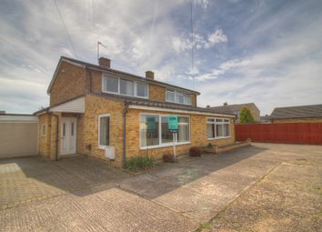 Thumbnail 3 bed semi-detached house for sale in Hardwick Road, Eynesbury, St. Neots