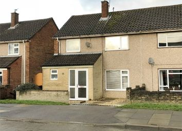 Thumbnail 3 bed semi-detached house for sale in Taunton Avenue, Corby, Northamptonshire