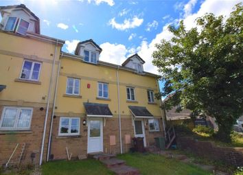 Thumbnail 3 bed terraced house for sale in Lakeside Drive, Plymouth, Devon
