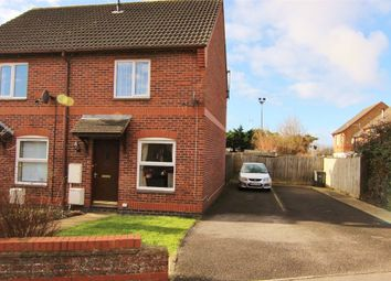 Thumbnail 2 bed semi-detached house for sale in Puttingthorpe Drive, Weston-Super-Mare
