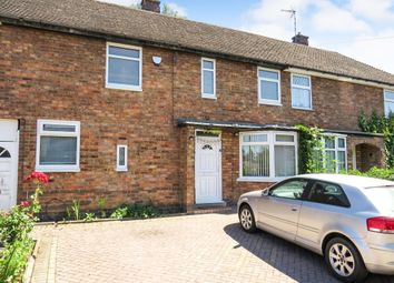 Thumbnail 3 bedroom terraced house for sale in Withcote Avenue, Leicester