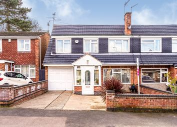 Thumbnail 5 bed semi-detached house for sale in Priory Walk, Leicester Forest East, Leicester