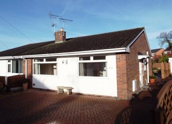 Thumbnail 2 bed bungalow to rent in Aberllanerch Drive, Buckley