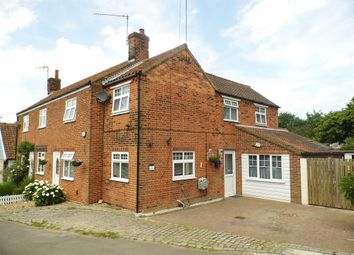 Thumbnail 3 bedroom cottage for sale in Chapel Road, Paston, North Walsham