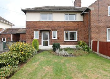 Thumbnail 2 bed semi-detached house for sale in Elm Street, Hollingwood, Chesterfield