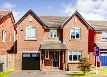 Thumbnail 4 bedroom detached house for sale in Blackton Road, Hartlepool