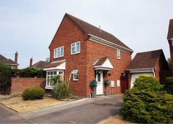 Thumbnail 4 bed detached house for sale in Chinnor Close, Goldington, Bedford